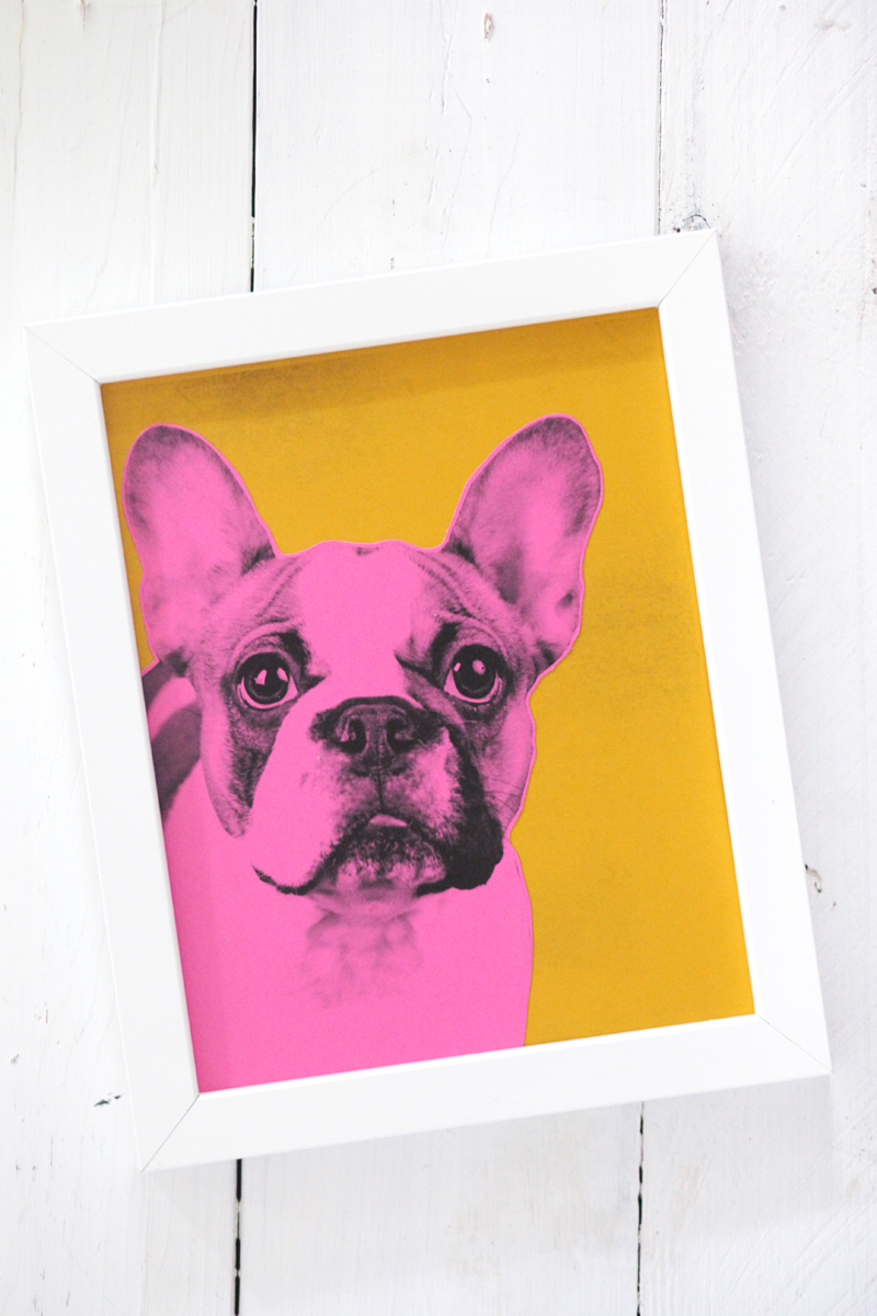 Make Your Own Pop Art Pet Portrait \u2013 A Beautiful Mess