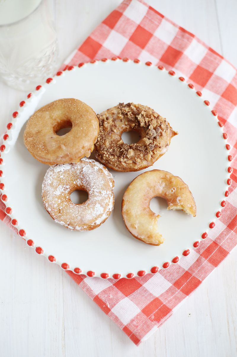 "Potato Donuts, makes sixty 2 1/2"" donuts. You can half this recipe ..."