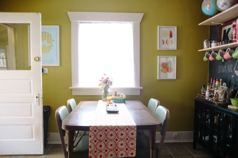Sweet dining nook