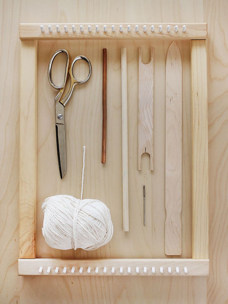 Weaving Class Creating Shapes And Getting Fancy A