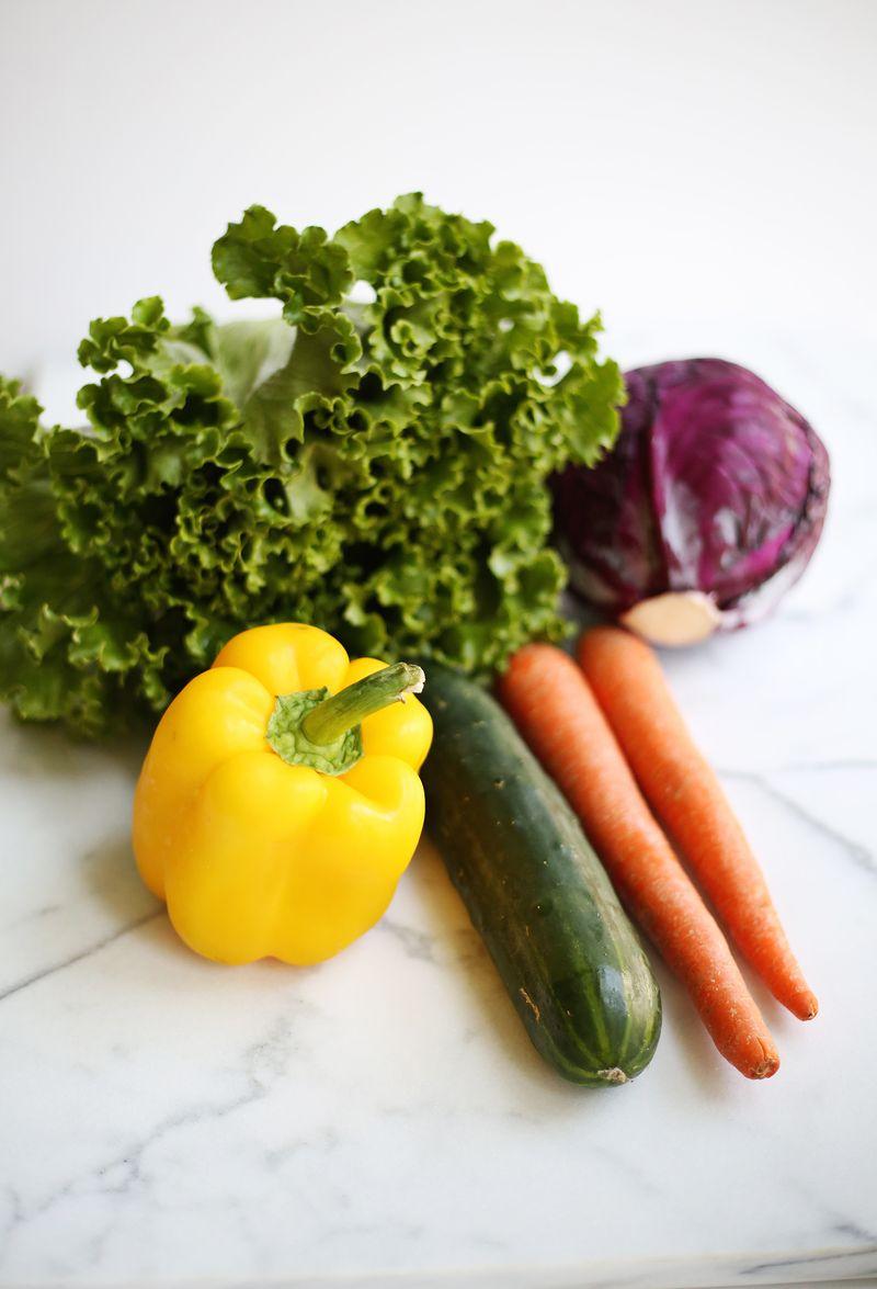Veggie options for spring rolls