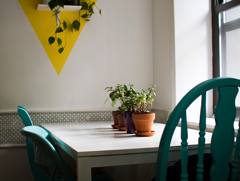 Sweet dining space