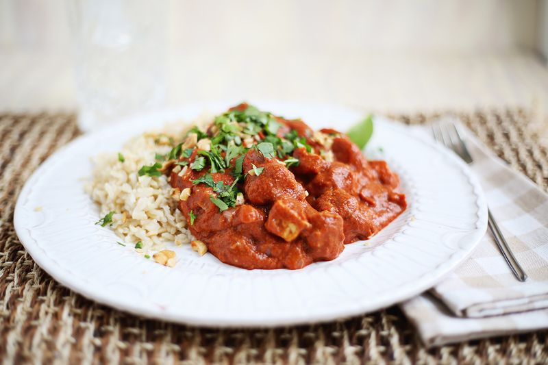 Vegetarian tikka masala (click through for recipe)