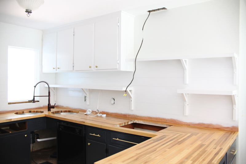 Kitchen Cabinets Up To Ceiling reconfiguring existing cabinets for a fresh look – a beautiful mess