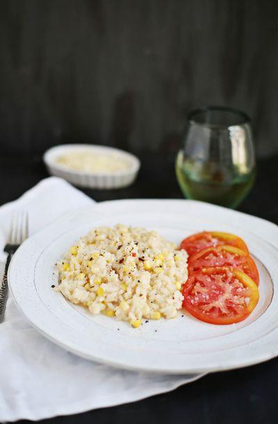 Summer Corn Risotto