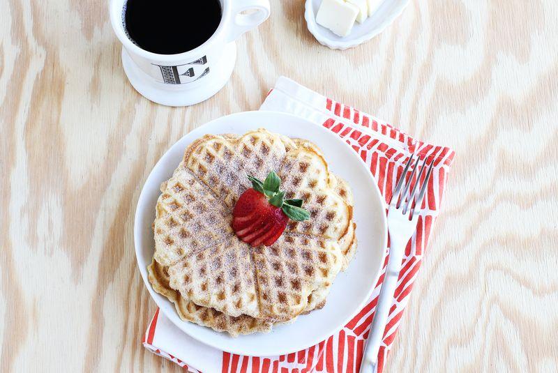 Best snickerdoodle waffles