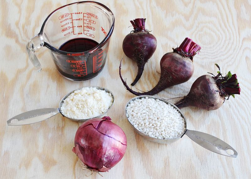 How to make beet risotto