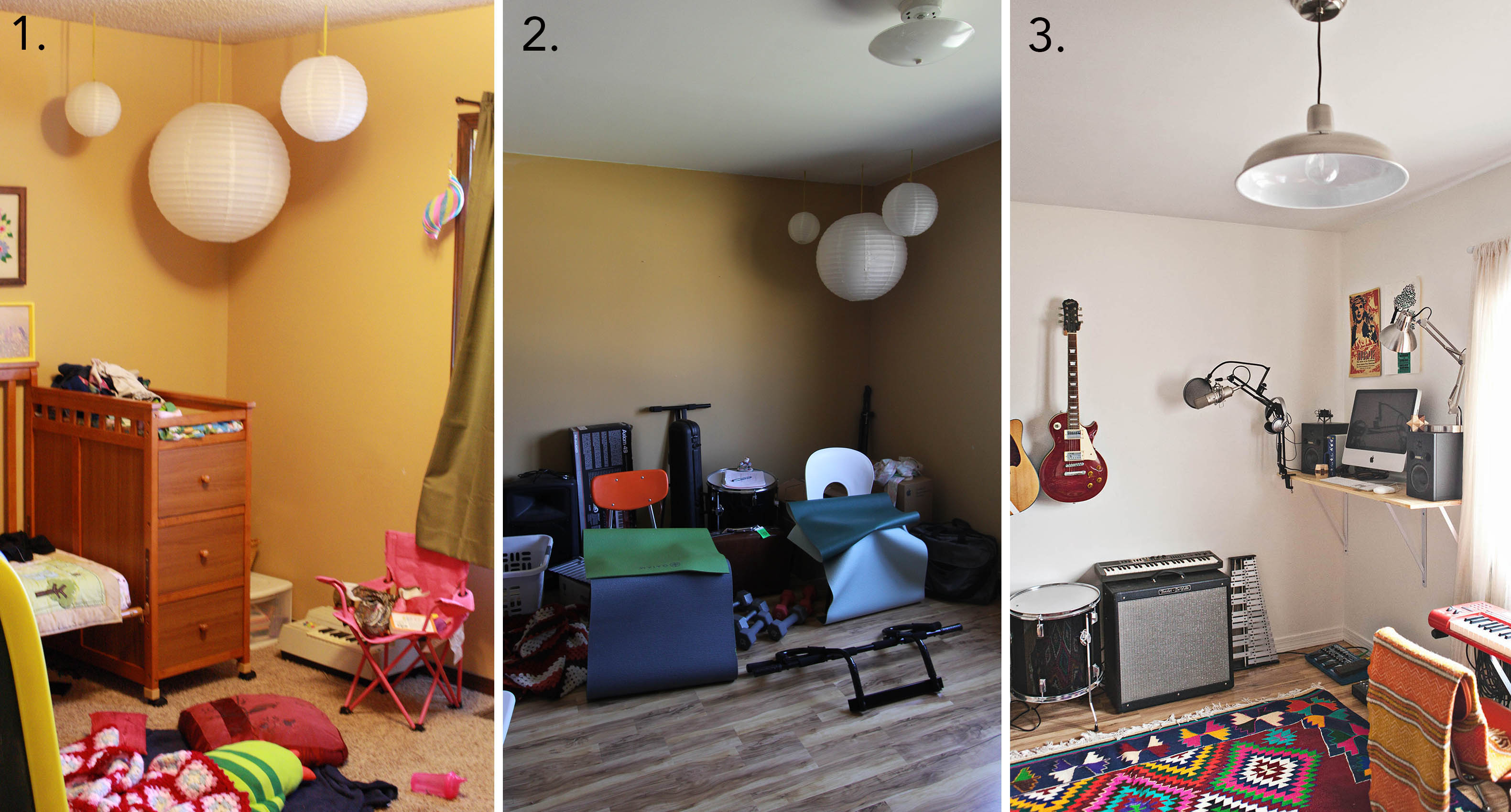 Emma's home office evolution