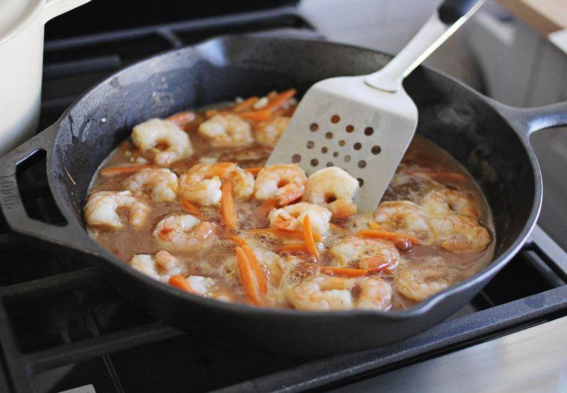 Best shrimp lo mein