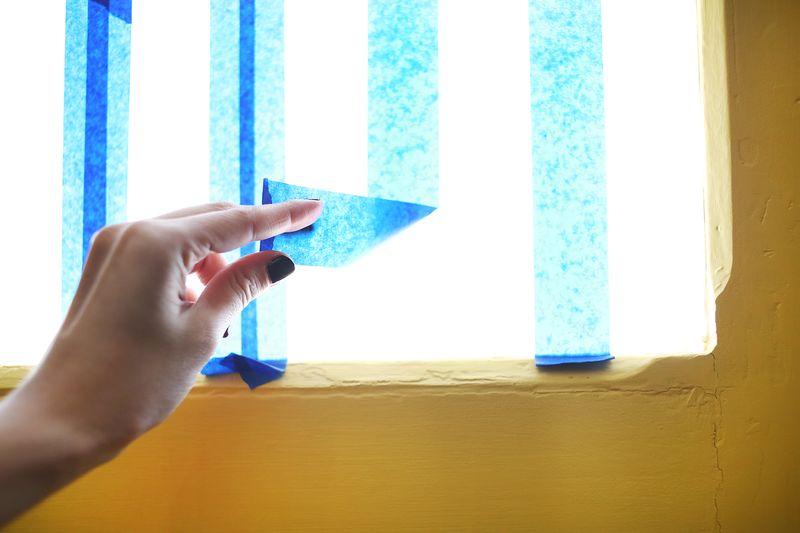 Frosted Pattern Privacy Glass abeautifulmess.com