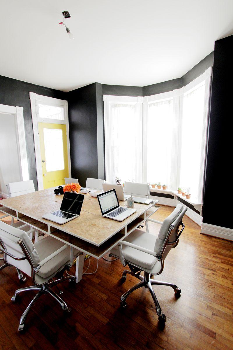 A Beautiful Mess Office (progress!)
