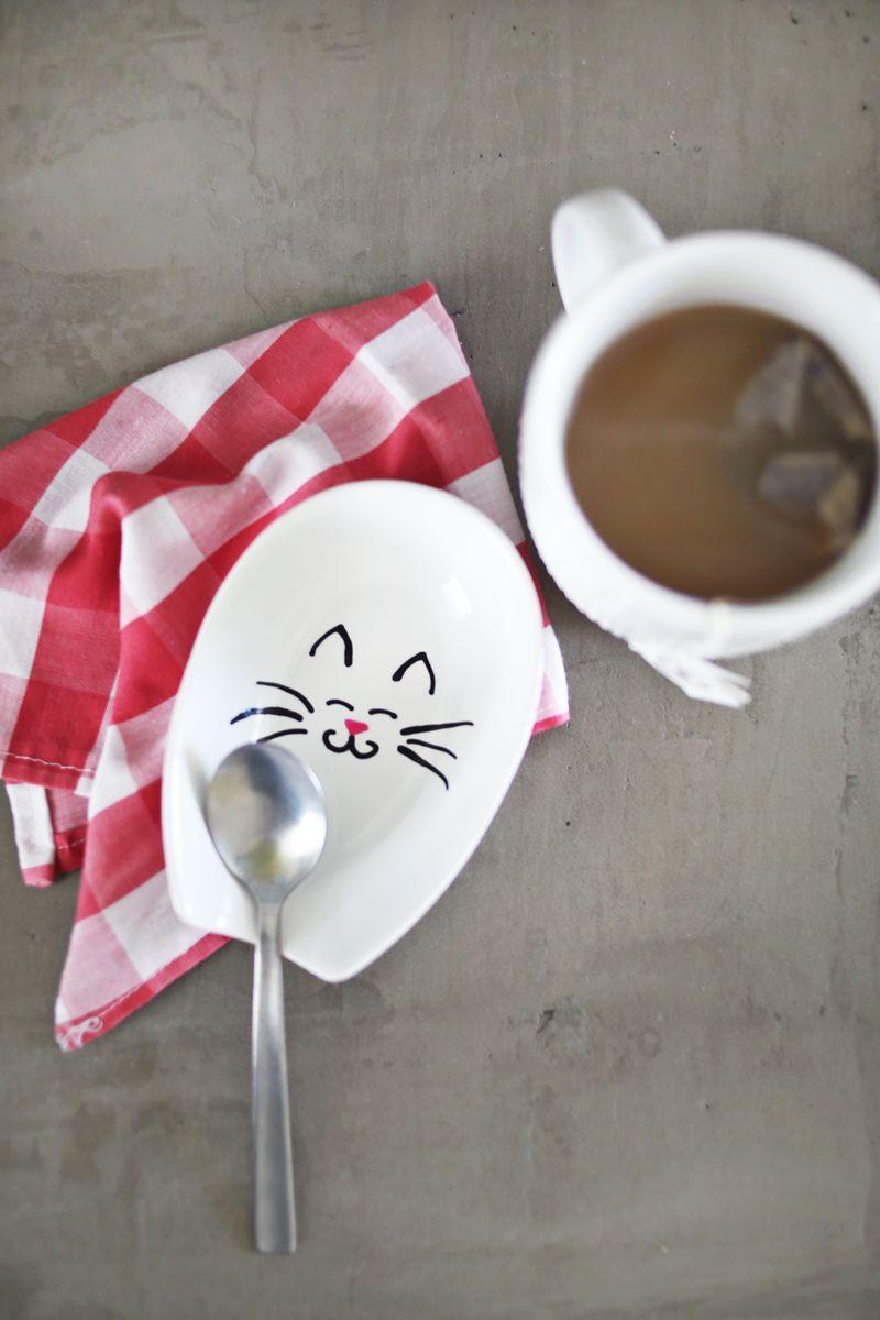 Personalized Spoon Rest abeautifulmess.com