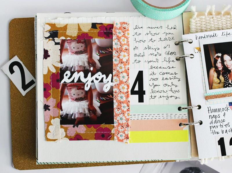 Rachel Denbow's new art journal e-course (click through for full details!)