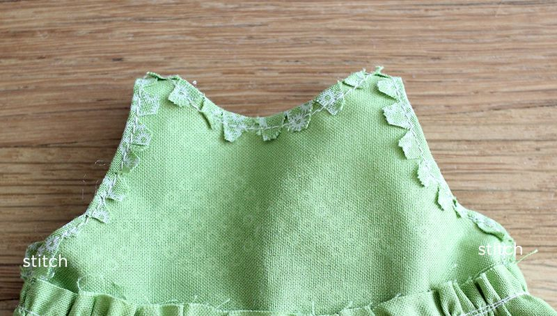 Step 12- stitch the edges together