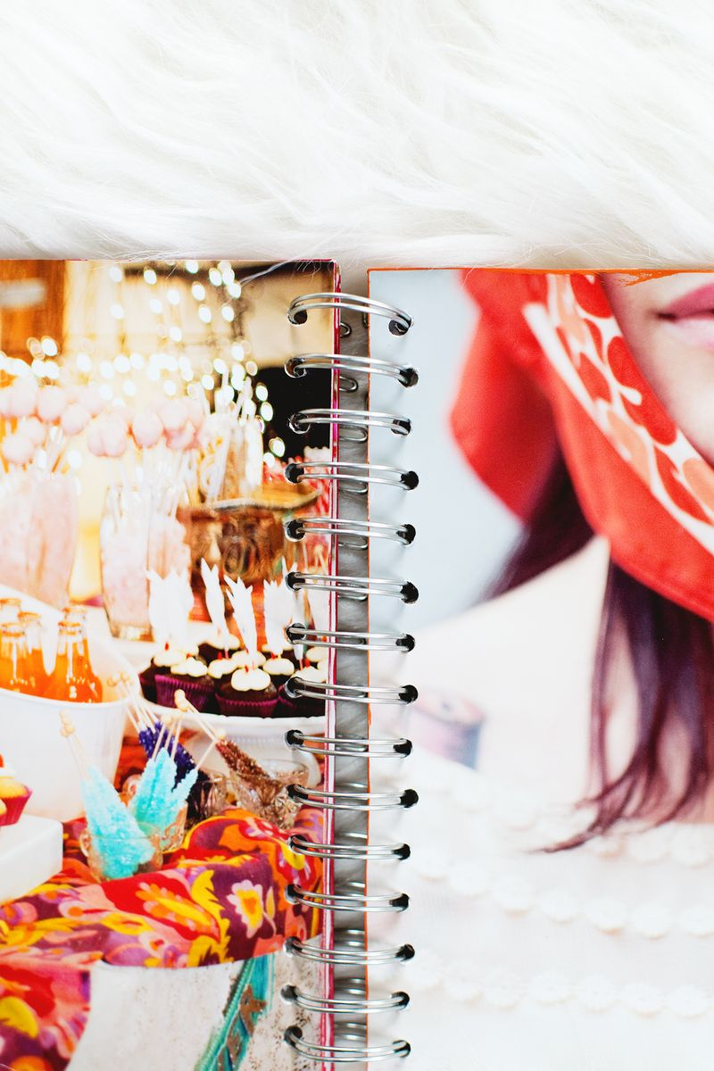 How to make a chipboard album beautiful mess