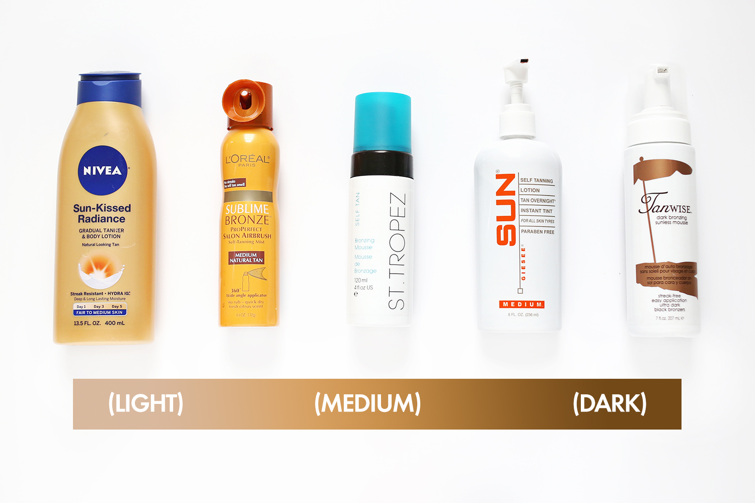 Our search for the perfect self-tanner abeautifulmess.com
