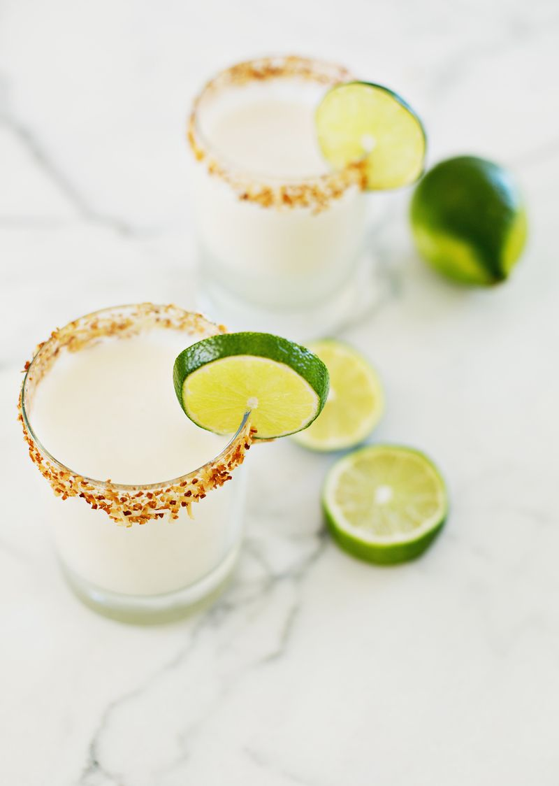 Toasted Coconut Margarita - A Beautiful Mess