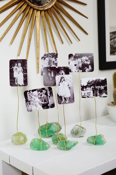 Try This: Mineral Photo Display