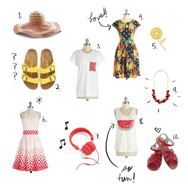 Favorite ModCloth items Spring 2014