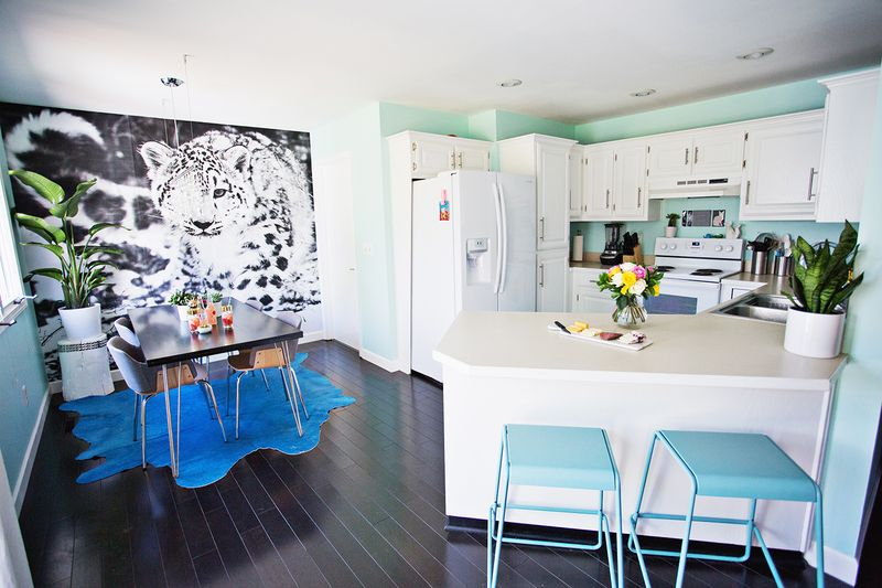 Home Tour— Laura's Dining Room and Kitchen