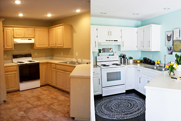 Laura's Dining Room and Kitchen (Before + After!)