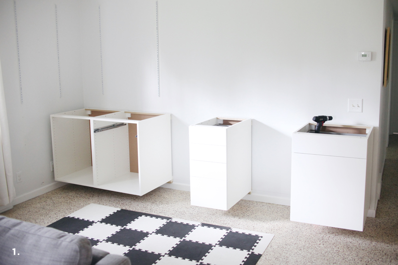 How To Make A Computer Desk Out Of Kitchen Cabinets
