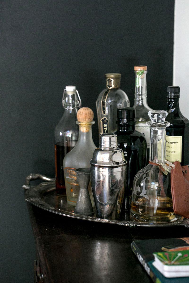 Lovely bar setup
