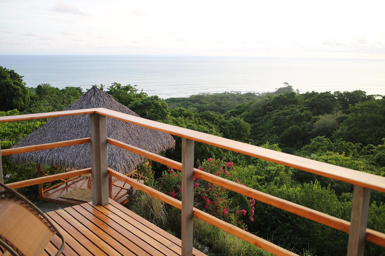 Bedroom deck view