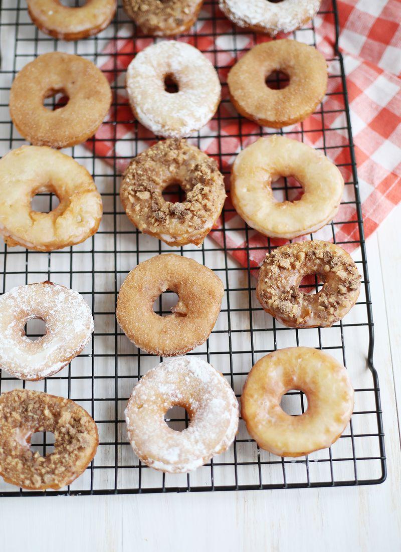 Potato donuts (click through for recipe)
