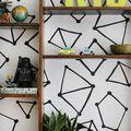 Design Your Own Bookshelf Lining - July 03, 2014