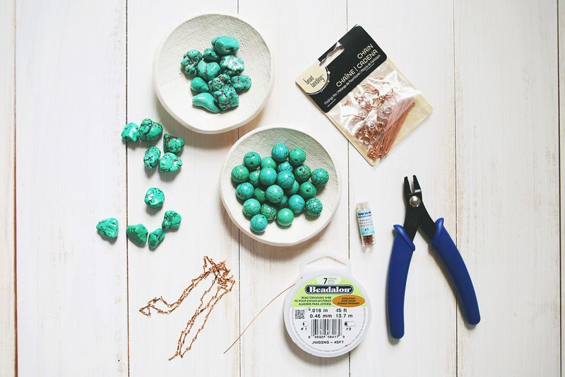 How to make a simple beaded necklace