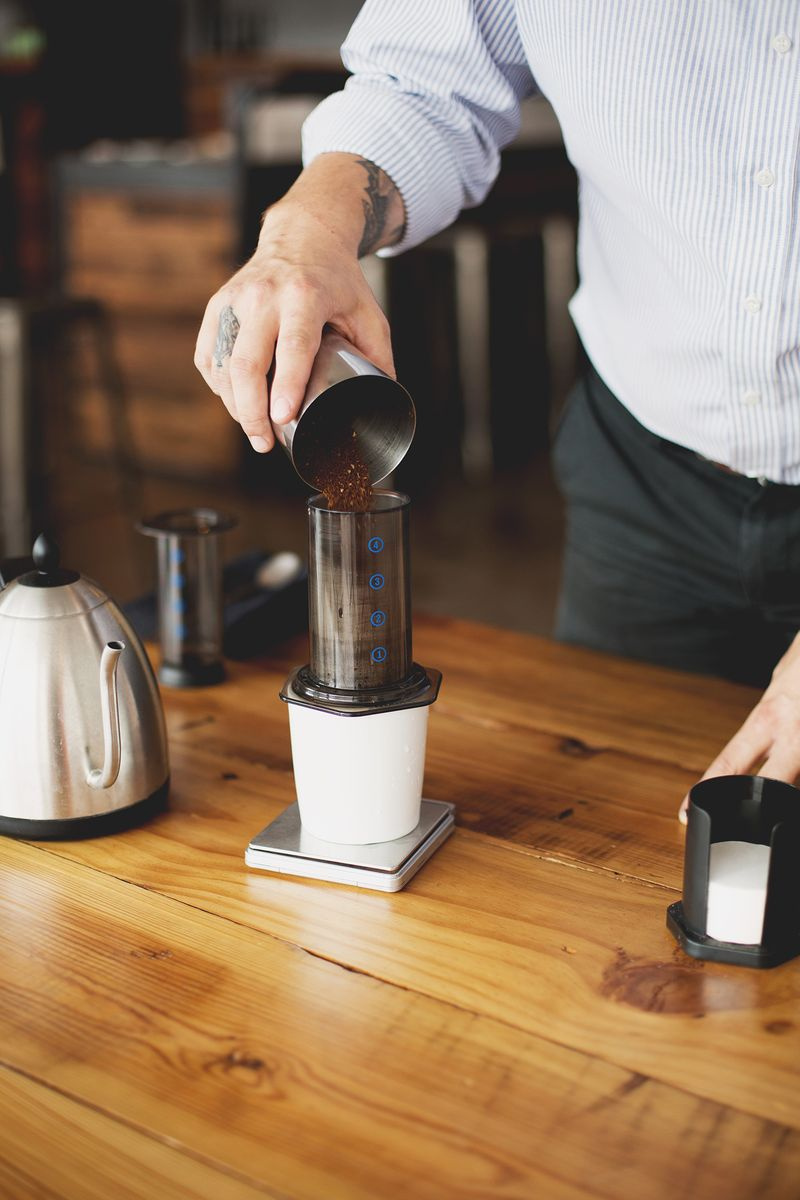 How to brew with an Aeropress
