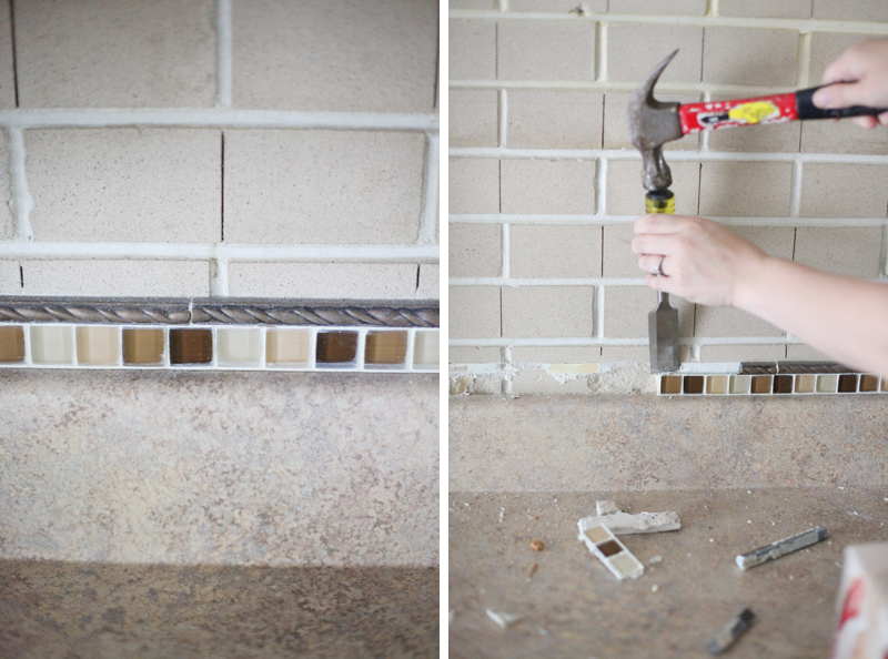 How to clean, paint, and drill into a brick wall
