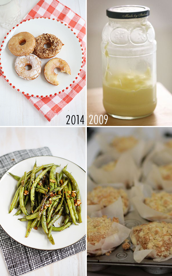 Food photography through the years
