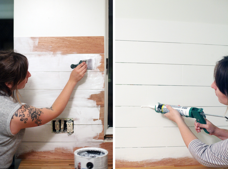 How to Make an Inexpensive Plank Backsplash – A Beautiful Mess