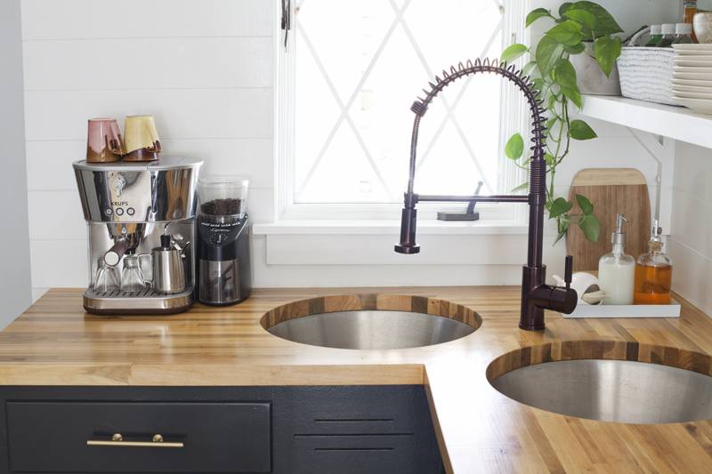Installing Butcher Block Counters With An Undermount Sink
