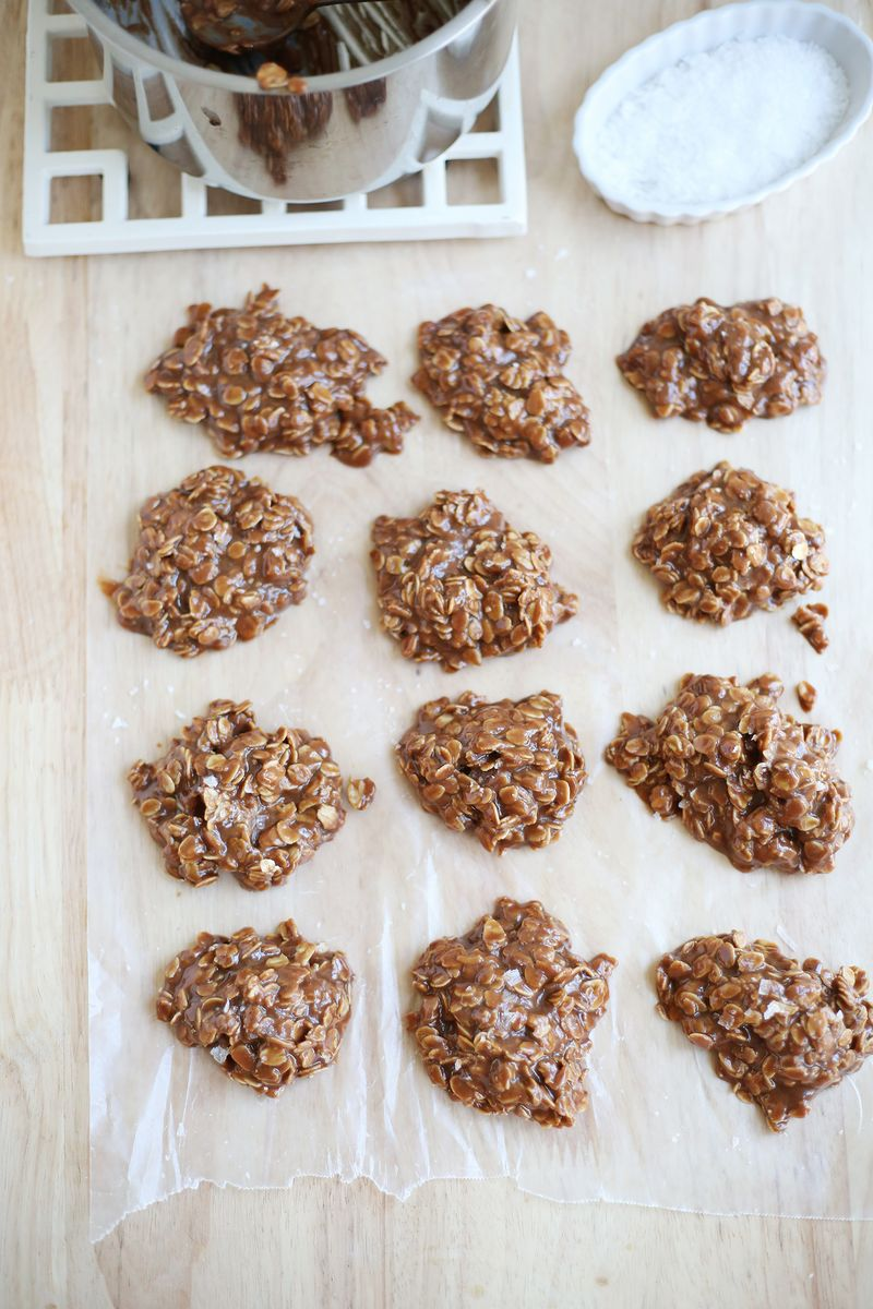 My favorite no bake cookie recipe (click through for recipe)