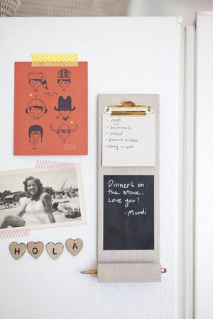 Make a Custom Magnetic Clipboard