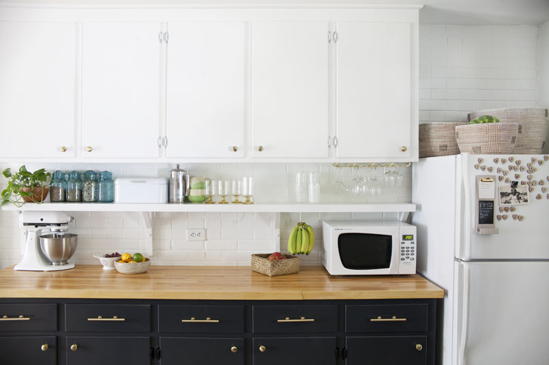 Eclectic Kitchen Renovation- including before and after photos