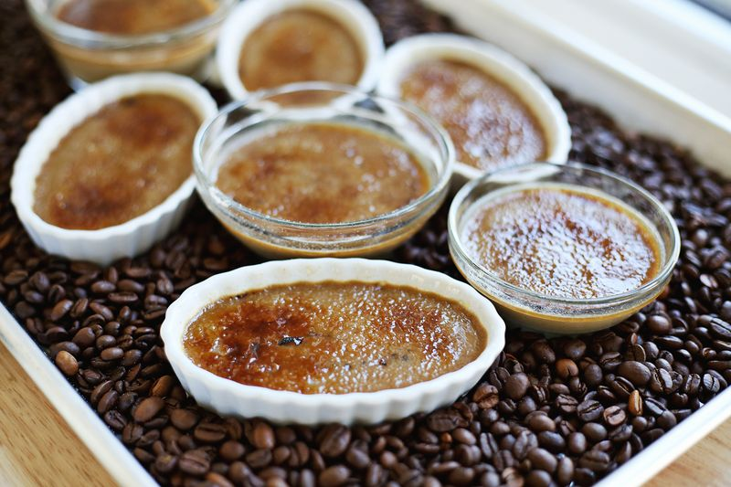 Espresso creme brulee (click through for recipe)