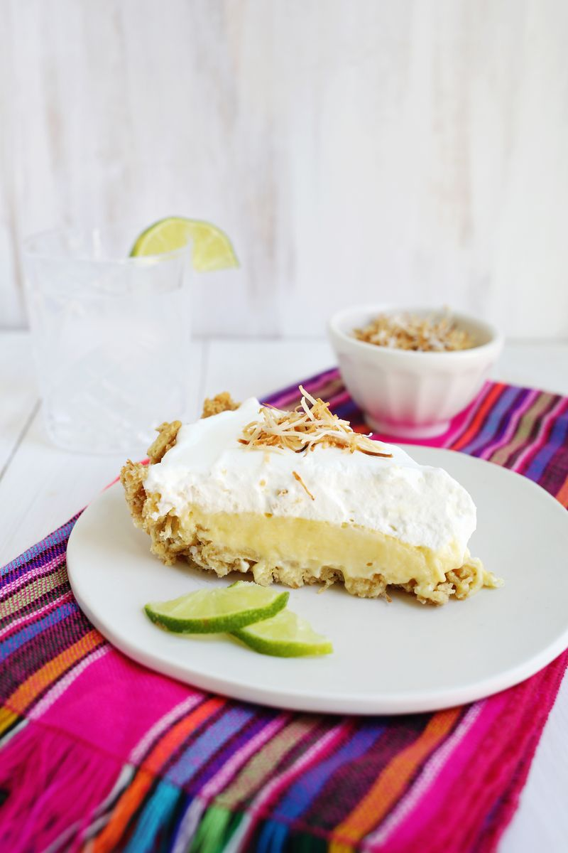 (Easiest Ever) coconut lime pie