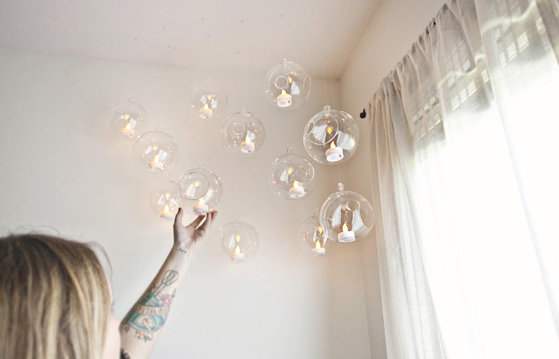 Hanging globes