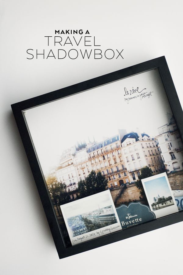 Diy Paper Shadow Box Frame
