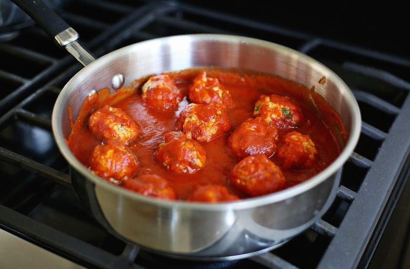 пасты томатной с без фото тефтели