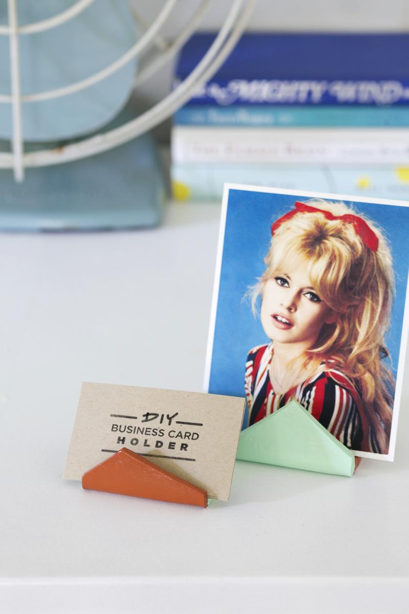 DIY card holders- so simple and fun!