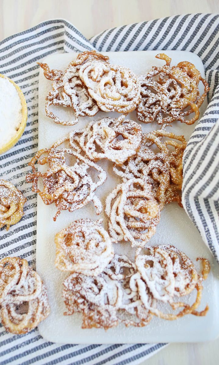 Super Easy Funnel Cakes! - A Beautiful Mess