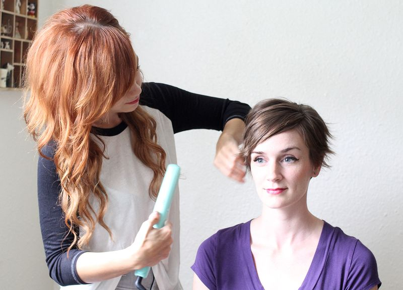 Ways To Style Thin Hair: 3 Ways To Style A Pixie Cut