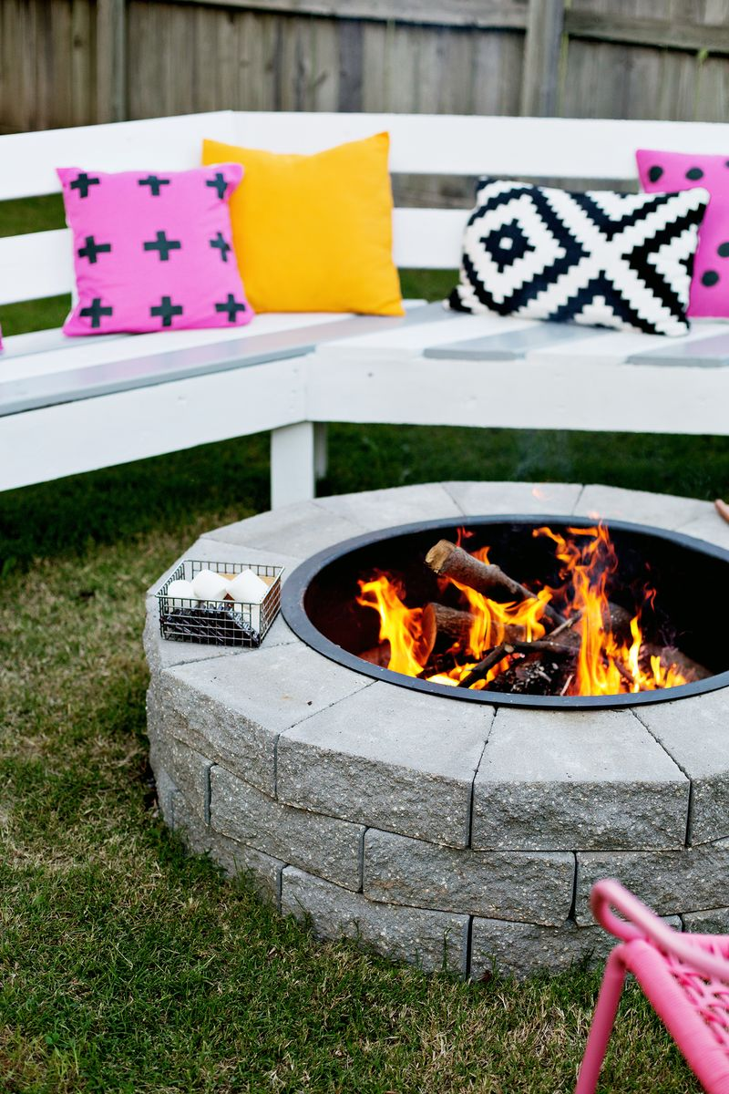 This Would Be Great For The Backyard! Firepit In 4 Easy Steps (click Through