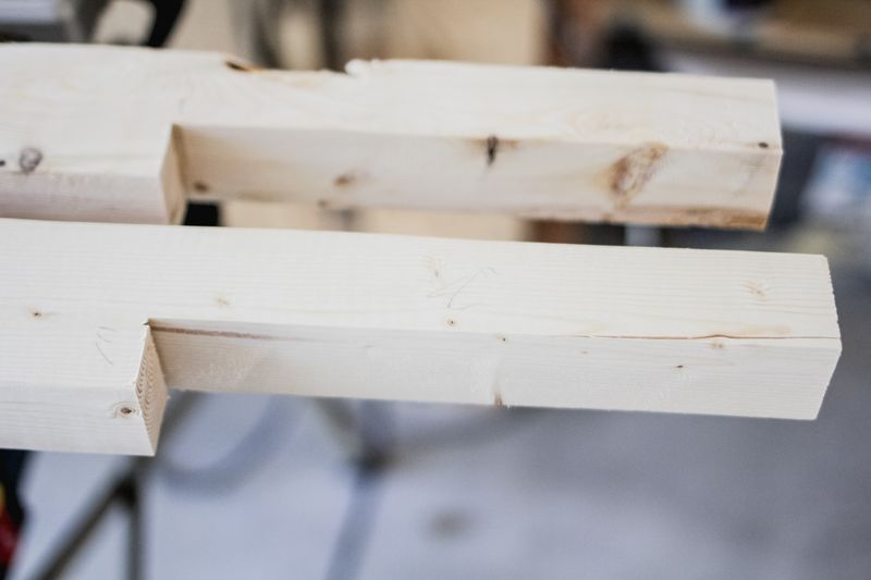 Faux fireplace surround - making of (click to learn more)