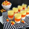 Candy Corn Jell-O Shots! - October 06, 2014